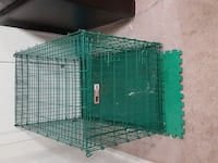 green metal folding dog crate Chicago, 60606