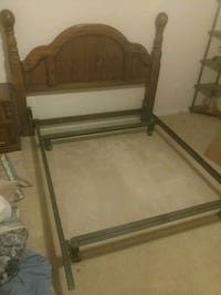 bed frame & headboard  Harker Heights, 76548