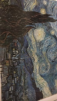Starry Night by Vincent van Gough painting Indianapolis, 46218