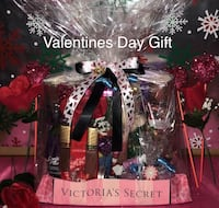 LARGE VALENTINES DAY Victorias Secret Gift BASKET SPA SET NEW VS
