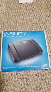 Infinity Foot Pedal transcriptionist