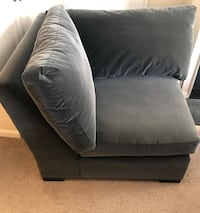 Crate and Barrel Sectional Sofa