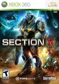 SECTION 8 - Xbox 360 Spel  Stockholm, 123 44