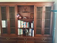 Executive Credenza with Hutch / Library Herndon, 20171
