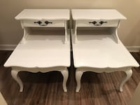 Pair of French style nightstands/ end tables Odenton, 21113