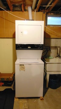 WASHER DRYER  FRIGIDAIRE WHITE