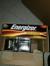 Industrial Energizer D battery box Annandale, 22003