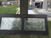 two white wooden framed glass windows Mississauga, L4X 1X2