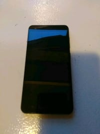 black Android smartphone with black case Detroit, 48204