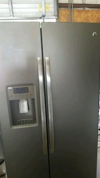 stainless steel side-by-side refrigerator with dispenser Fayetteville, 28301