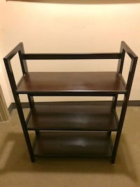 Solid wood stackable folding bookshelves x3 Seattle, 98121