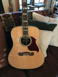brown and black acoustic guitar Bailey, 80421