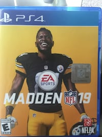 EA Sports Madden NFL 18 PS4 game case Tempe, 85282