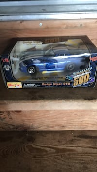 blue and white die-cast car Spruce Grove, T7X 3K3