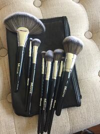 8 brushes from Set 504 synthetic makeup eyes and face TORONTO
