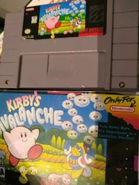 Kirby avalanche SNES game Toronto, M9A 1J5