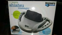 Kneading shiatsu massager  Orange, 92866