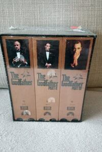The Godfather collection VHS Toronto, M9A 4M6