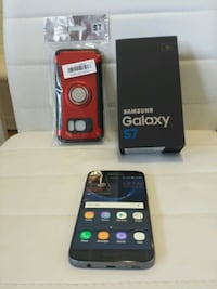 Samsung Galaxy s7 with Box and brand new Case and. Dollard-des-Ormeaux, H9B