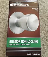 Brand New Mountain Security Stainless Steal Door Knob  Markham, L3P 1B4