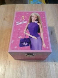 Barbie music jewelry box