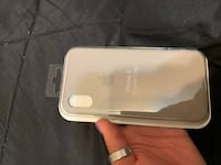 iPhone X Beige Apple silicone case East Northport, 11731