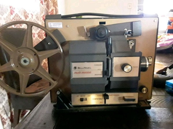Vintage Bell & Howell 8mm Projector