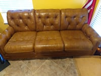 Antique Classic Leather Inc. Couch --14 June last