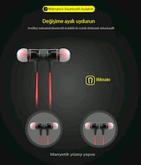 Gomax Sports Mıknatıslı Kablosuz Mini Bluetooth Ankara