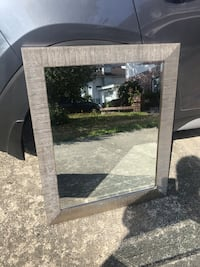Large mirror, approximately 70 cm to 90 cm,