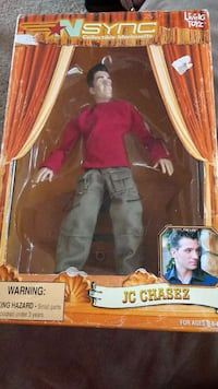 N Sync JC Chasez action figure in box