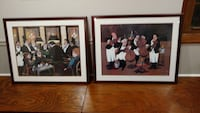 Two print professionally framed collection. Fairfax Station, 22039