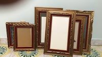 Gilded wooden frames with velvet interior Montréal, H2T 2L4