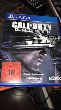 Call of Duty Ghosts PS4 spill tilfelle 6250 km