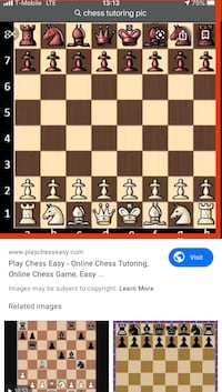 Chess lessons Dunn Loring