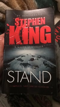Stephen King the stand book Duncan, V9L 4E5