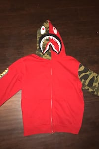 Bape jacket size medium