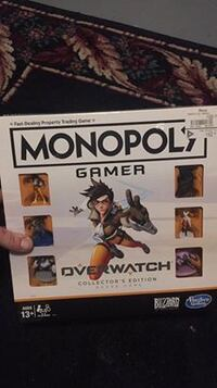 Monopoly Overwatch Collector's Edition