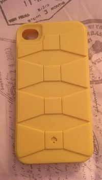 iPhone 4S Kate spade rubber case