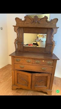 Solid Oak Hutch San Leandro, 94578