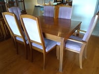 Dining Room Table and Chairs Mississauga, L5W 1J2