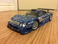 Diecast Mercedes CLK GTR  1:18 Richmond Hill