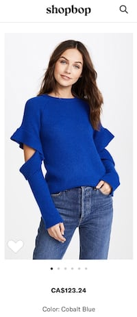 Endless Rose NWT cobalt blue sweater - Size Small S Vancouver, V5M 1T4
