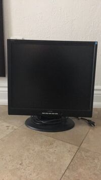 black flat screen computer monitor Mississauga, L4Z 4A1