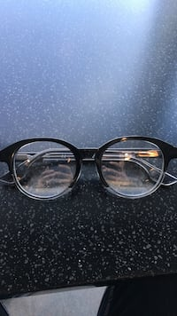 black framed eyeglasses with black lens Burnaby, V5A
