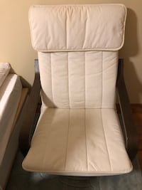 Ikea poang and foot rest chair Burnaby, V5J