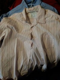 white button-up long-sleeved shirt San Angelo, 76903