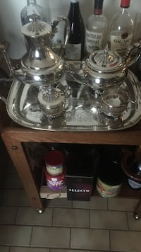 Tea & Coffee service. Complete.Silver from Ashley's store
