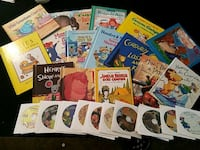 15 books with read along cd' s. New!! Portland, 97230