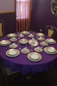 58 piece gold plated china serve 8 Baltimore, 21206